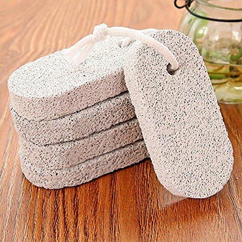 Xshuai pierre ponce pour enlever les peaux mortes, brosse de polissage pour pédicure Fad B1 LJ Size: length 9.5 cm gris