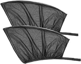 Amaoma Protector Asiento Trasero Coche Ni/ños Protector para Asiento Trasero Protector Impermeable para Asiento del Autom/óvil Anti-Sucio Protector Asiento Coche Universal Negro