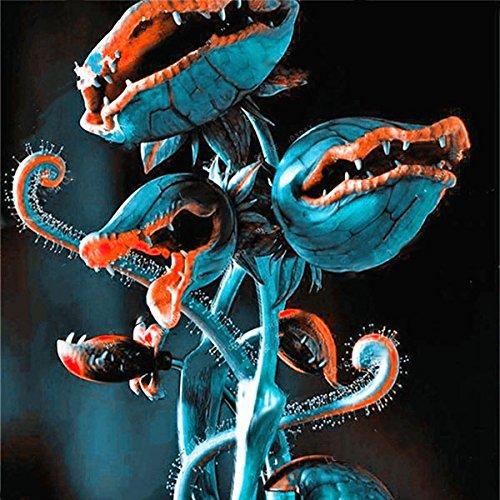 TENGGO Egrow 100 Teile/Paket Fliegenfalle Samen Garten Topf Dionaea Muscipula Riesen Fleischfressende Pflanzensamen - 2