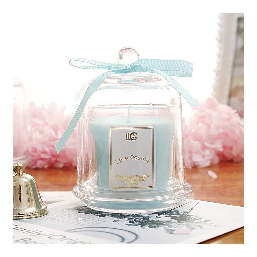 結婚式前者情熱的Guomao アロマセラピーキャンドルホームデコレーションソイキャンドルバースデーギフトルームフレグランス無煙キャンドル (色 : Lavender)