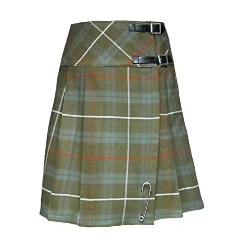 2e27310fd Tartanista Womens 20 Inch Weathered Tartan Kilt Skirt
