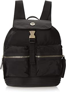 Tommy Hilfiger Small Textile Womens Backpack One Size Black