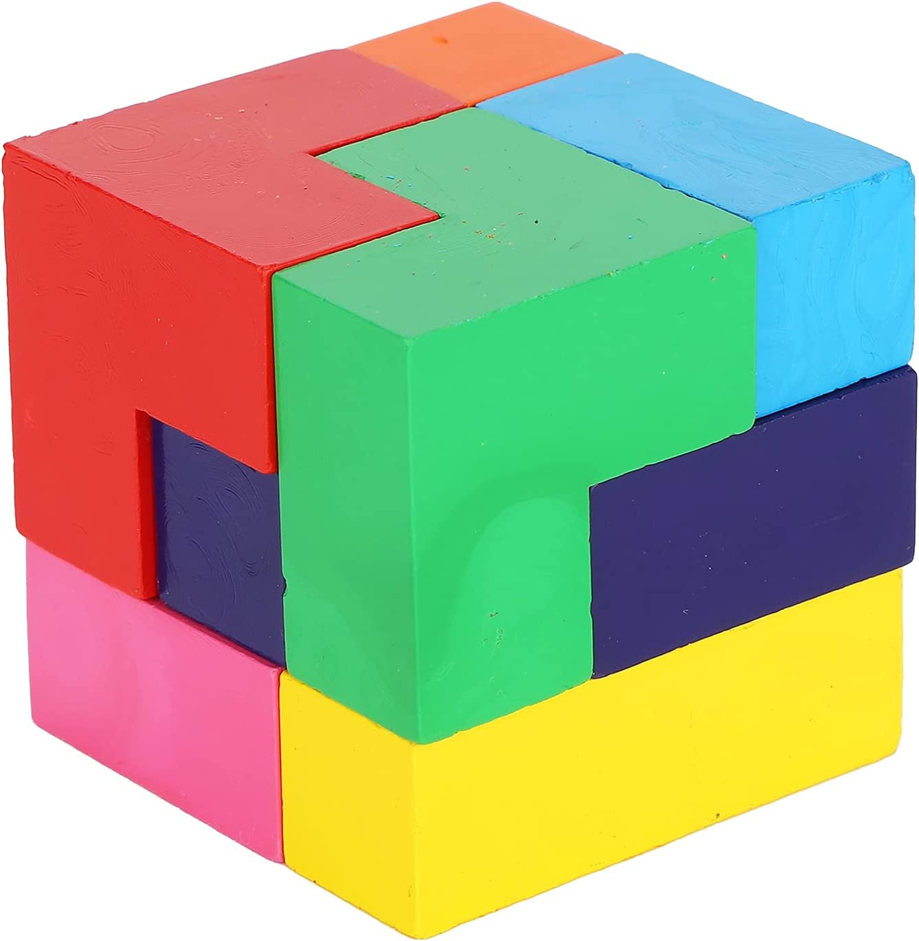 Kids Puzzle Cube Crayons unisex Ding Colored Super special price Children's