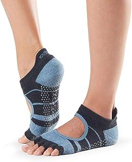 toesox Grip Half Toe Bellarina Snowbound Medium 25~27cm