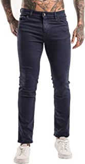 Sponsored Ad - Heyfanee Men's Skinny Jeans Stretch Ripped Denim Pants Slim Fit Straight Leg