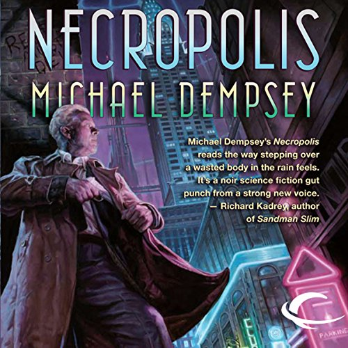 Necropolis  audiobook cover art