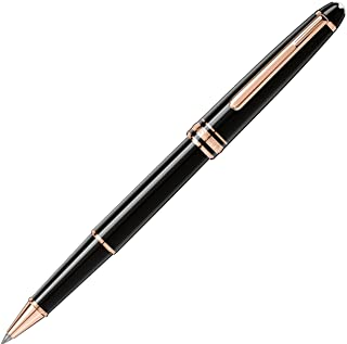 Montblanc 112678 Meisterstück Red Gold-Coated Classique Rollerball Pen