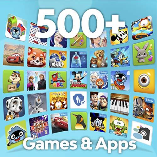 """Pebble Gear 7"""" Kids Tablet – Disney La Reine des neiges 2 Tablette (Frozen 2), boîtier Pare-Chocs conçu pour Enfants, contrôle Parental, +500 Jeux, Applications et E-Books, Wi-FI, 16 GB, HD Display"""