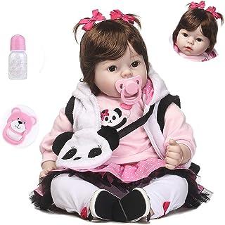 Reborn Dolls 48 cm/55 cm 'That Looks Real Baby Doll' realistyczna realistyczna silikonowa winyl noworodek miękka lalka mał...