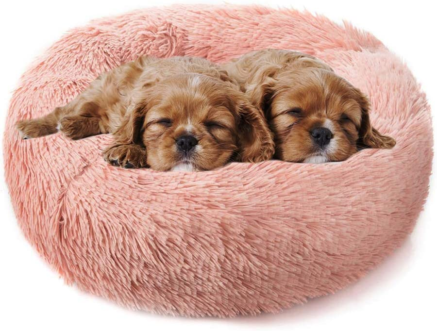 online shop Miyabing Cat Dog Bed in Donut Cuddler Fur Faux Self-Warming Dealing full price reduction