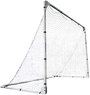 Lifetime 90046 Soccer Goal with Adjustable Height and Width, 7' x 5',Black