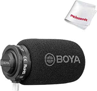 Boya BY-DM100-OP Digital Shotgun Condenser Microphone for DJI OSMO Pocket