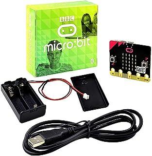 KEYESTUDIO BBC Micro: bit y Caja de Compatible con Micro: bit Conector Board para Microbit Kit