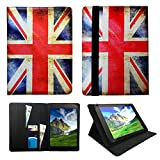 Sweet Tech Archos 101e Neon 10.1 Pouces Tablette Union Jack Universel Étui Coque...