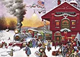 Buffalo Games - Charles Wysocki - Whistle Stop Christmas - 500 Piece Jigsaw Puzzle