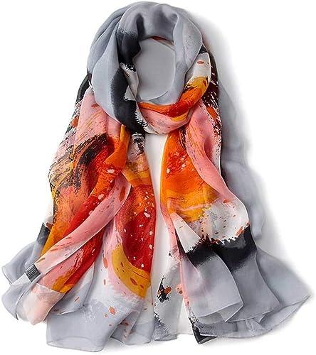 Hqysjin écharpes imprimées chale épaissie,Six,190  133cm