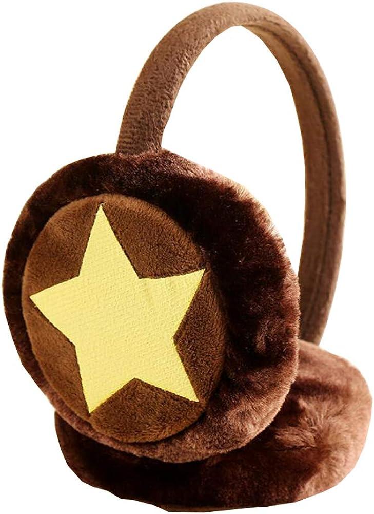 Cute Animal Soft Earmuffs Winter Warm Outdoor Ear Covers Headband Fur Ear warmer,#C6