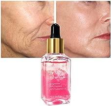 Spdoo Face Essential Oil, Nourishing Firming Skin Brighten Skin Color Orange Nectar Hyaluronic Acid Rose Moisturizing Whitening Essense Serum (Rose)