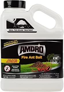 Amdro 100099072 Fire Ant Bait Granules, 2 Pound