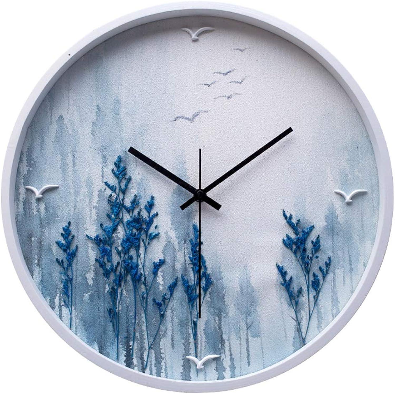Mirror Wall Clock Simple Modern Stylish Elegant Silent Non-Ticking Round Quartz Wall Clock, Creative Wall Clock for Living Room