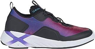 Geox J04BMA.0AS54 C8277 Violet/Black Sneakers Junior Uomo 33