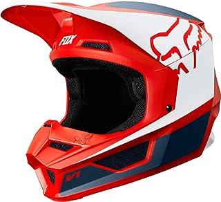 FOX V1 PRZM Motocross Helm Rot/Blau XXL