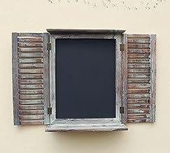 Amazon.es: ventanas de madera rusticas