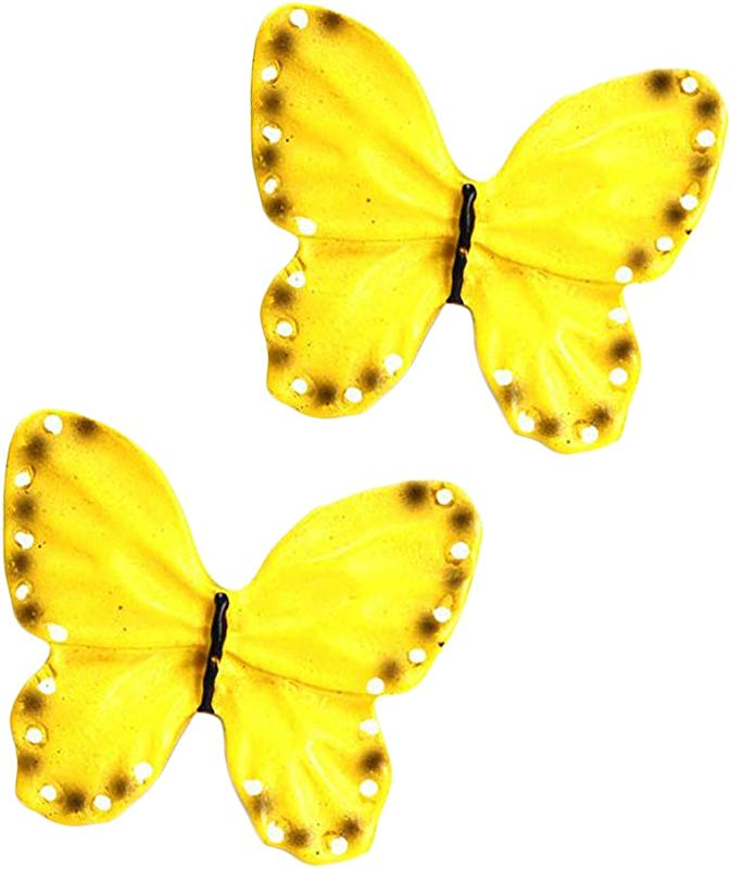 Kylin Express Pack Of 2 Cabinet Knobs Drawer Pull Handles Beautiful Butterfly No 7