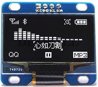 """HiLetgo 1.3"""" IIC I2C シリアル 128×64 OLED液晶ディスプレイ 1.3インチ 液晶モジュール AVR PIC STM32 Arduinoに対応 [並行輸入品]"""