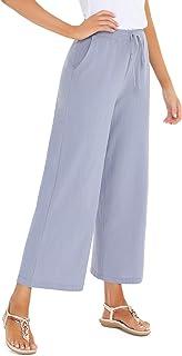 Mejor Pantalones De Tela Fina Mujer De 2020 Mejor Valorados Y Revisados
