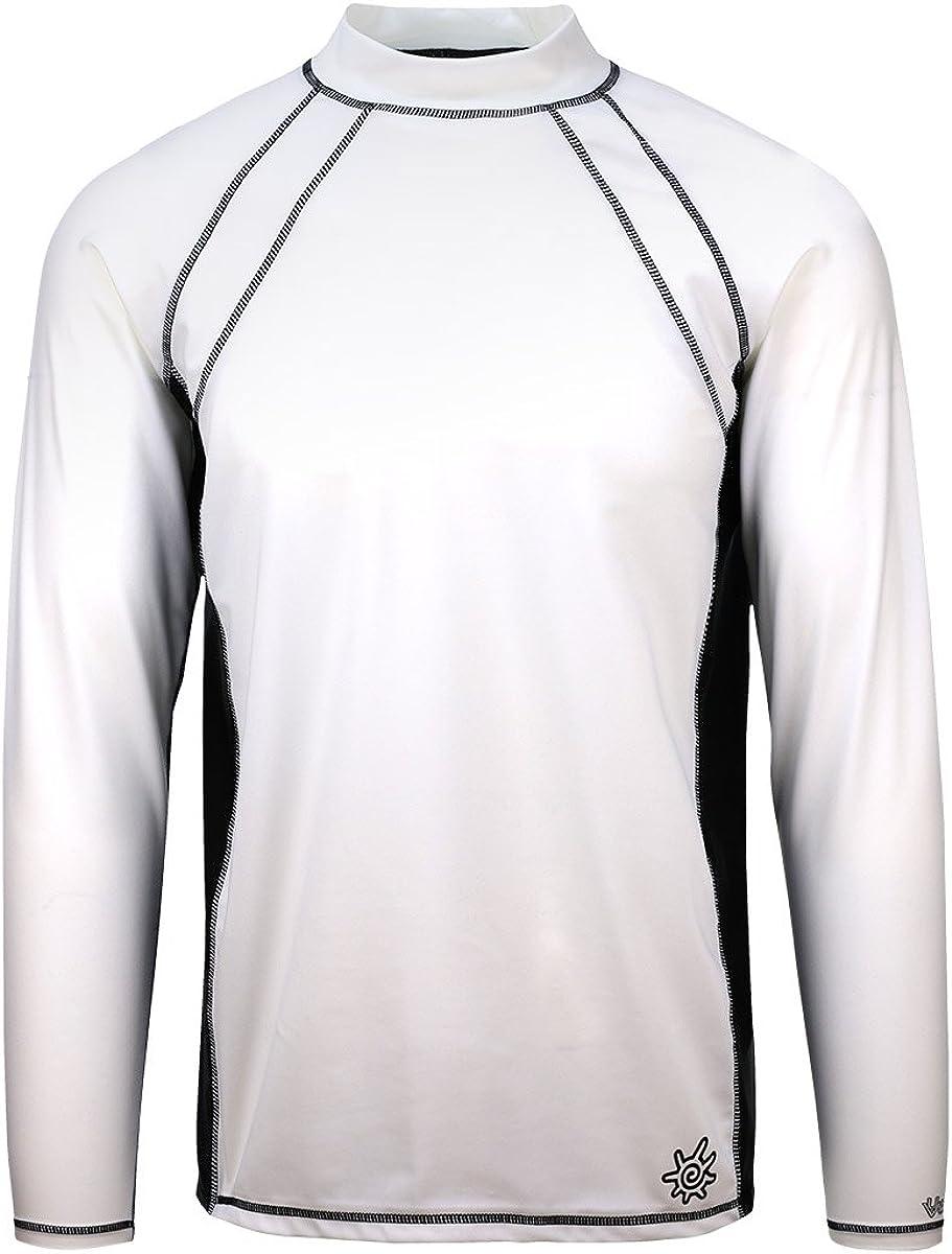 UV Skinz UPF 50+ Mens Long Sleeve Active Sun & Swim Shirt
