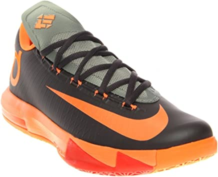 d9d4f0c5377f NIKE KD VI LAM Men Sneaker Anthracite Team Orange Mica Green Total Orange