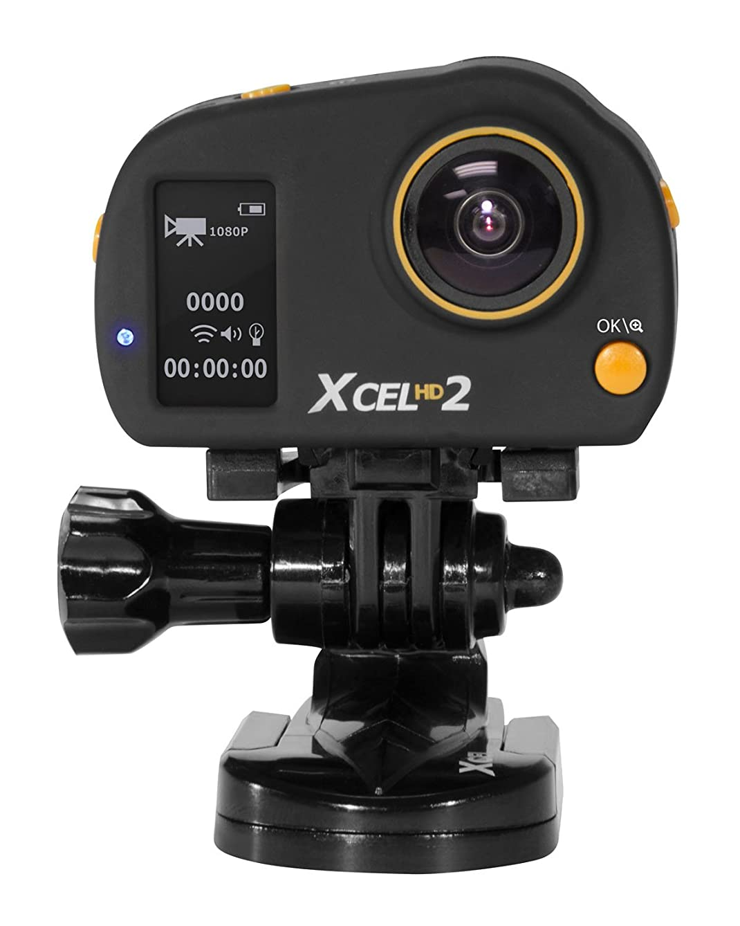SPYPOINT XCEL 1080/4K WiFi/2-Way 12MP Action Camera+Sound, 140°-170° View, 2
