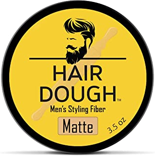 Hair Dough Styling Clay For Men - Matte Finish Molding Hair Wax Paste - Strong Hold Without The Shine