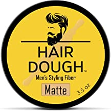 Hair Dough Styling Clay For Men, Matte Finish Molding Hair Wax Paste Quiff, Strong Hold Without The Shine