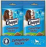 Chappi Dental-Hundesnacks - 70 Zahnpflege-Sticks zur Reduzierung von Zahnstein & Zahnbelag für mittelgroße Hundevon 10-25 kg, 10er Pack (10 x 180 g)
