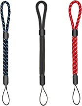 Adjustable Wrist Straps Hand Lanyard, 3 Pieces for iPhone Samsung Camera GoPro USB Flash Drives Keys PSP and Other Portable Items Blue/Black/Red(6.3