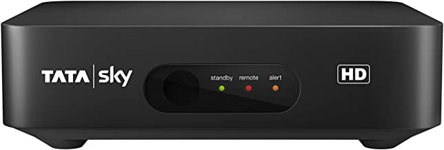 Tata Sky HD Set Top Box with Secondary Connection(Black)