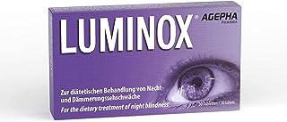 Luminox Suplemento para la Visión | Tabletas para Mejorar la Visión con Guaraná, Arándano, Acai y Ginkgo Biloba | La Mejor Vitamina para los Ojos