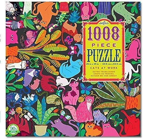 punto de venta Eeboo Cats At Work 1008 1008 1008 Piece Puzzle by eeBoo  barato en alta calidad