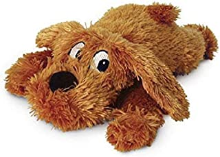 Yours Droolly AJ170 Muff Pup Plush Dog Toy, Small