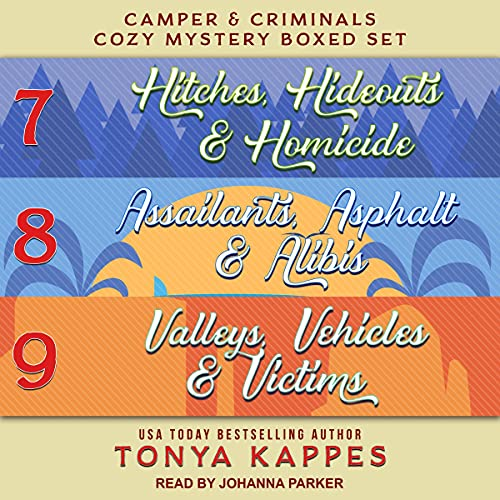 Camper and Criminals Cozy Mystery Boxed Set cover art