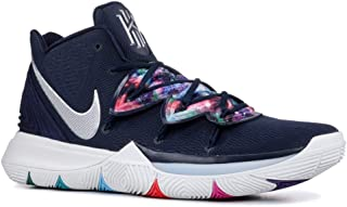 Nike Mens Kyrie 5 Basketball Shoe (12), Multi-color/Metallic Silver