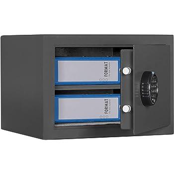 Sicherheitsstufe B BURG-W/ÄCHTER M/öbeltresor mit elektronischem Zahlenschloss Volumen: 20,6 l H 210 E