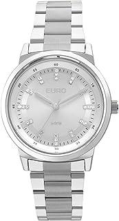 Relógio Feminino Euro Metal Colors Prata EU2036YLH/3K