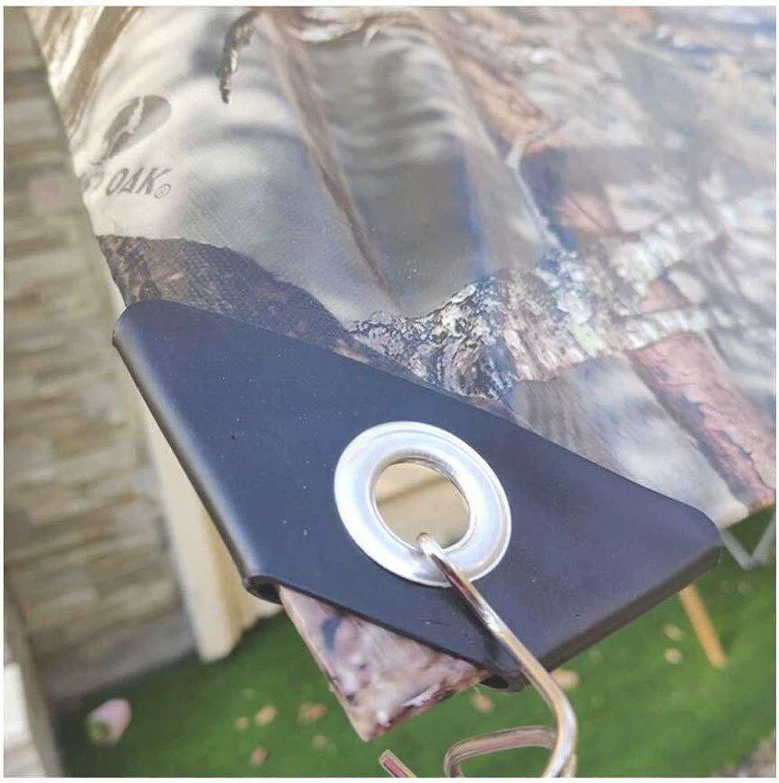 MSF Zeltplanen Mit Tüllen wasserdichte Heavy Duty Sommer Schatten Winter-Pflanze Frostschutz-Tuch im Freien Rasen Bodendecker PE Plastikblatt, for Dach Camping Patio (Größe   1.9x2.9m)
