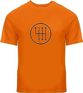 Manual Transmission Shift 6 Speed Stick - Mens Unisex Tee T-Shirt