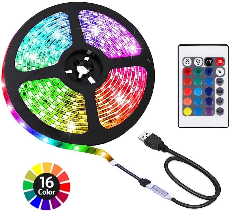 ACONDE 6.56 New Popular item feet USB LED Strip Decoration DIY Indoor Lights TV