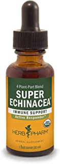 Herb Pharm - Immune Support - Super Echinacea - 1 fl oz (30 ml) (Pack of 8)