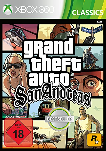 Grand Theft Auto: San Andreas - [Xbox 360] [Edizione: Germania]